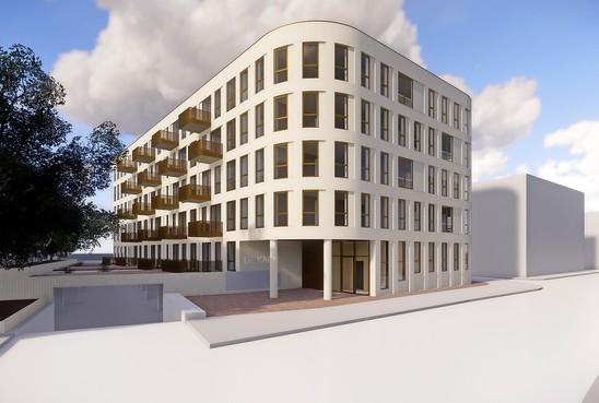 Gratis parkeren naast Gooiland is voorbij; bouw vijftig appartementen in centrum Hilversum begint deze zomer