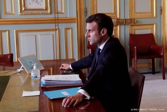 Macron: VS en Frankrijk bereiden initiatief tegen corona voor